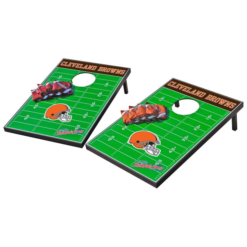 Wild Sports Cleveland Browns Tailgate Cornhole Toss