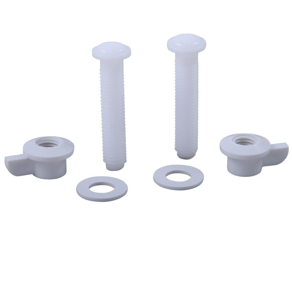 Delta Toilet Seat Mounting Hardware - 2 Screws and Nuts