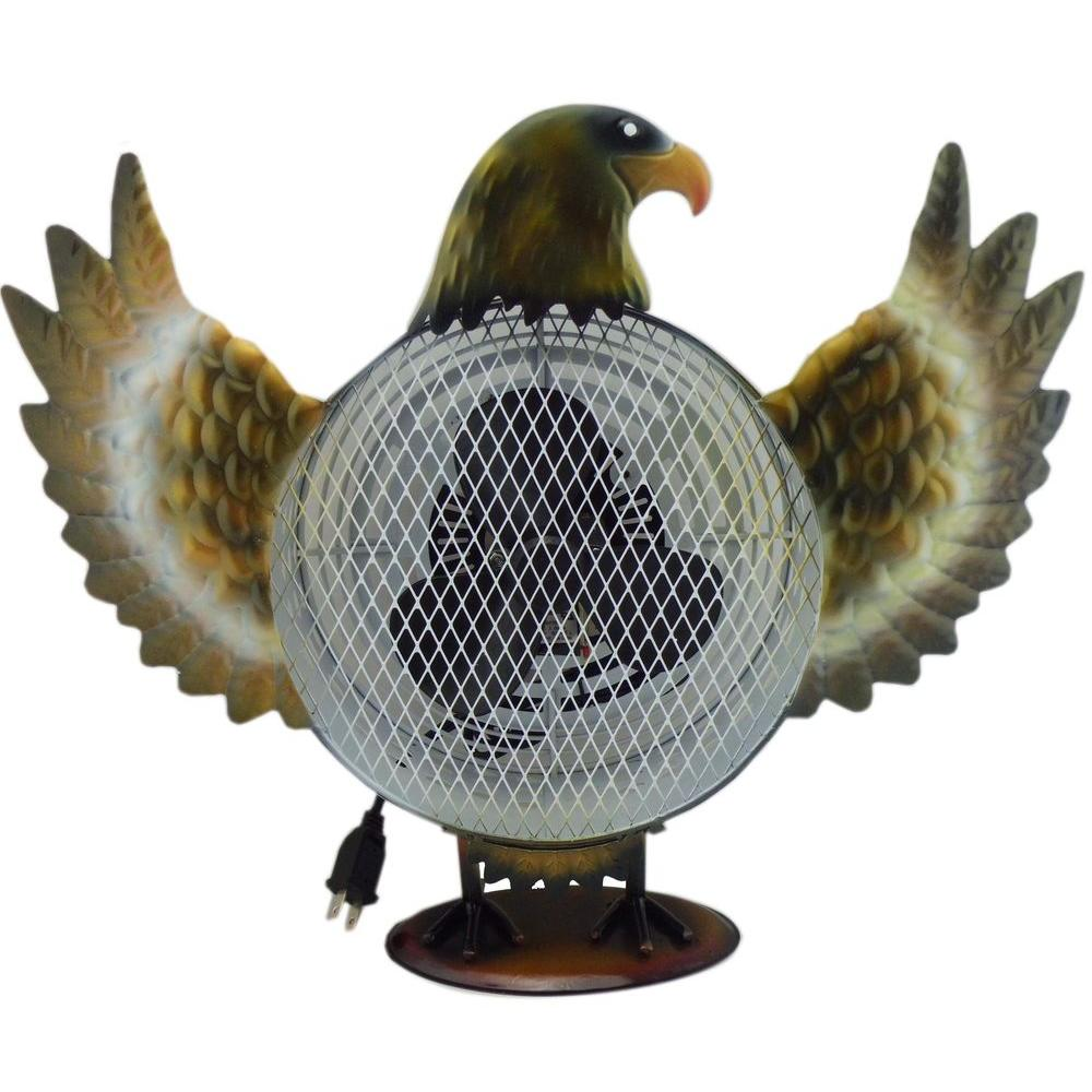 null Himalayan Breeze Decorative Fan Eagle 8.5in(Medium)-DISCONTINUED