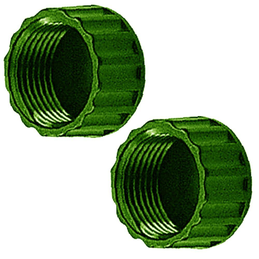 Replacement Sprinkler Garden Hose End Caps (2-Pack)