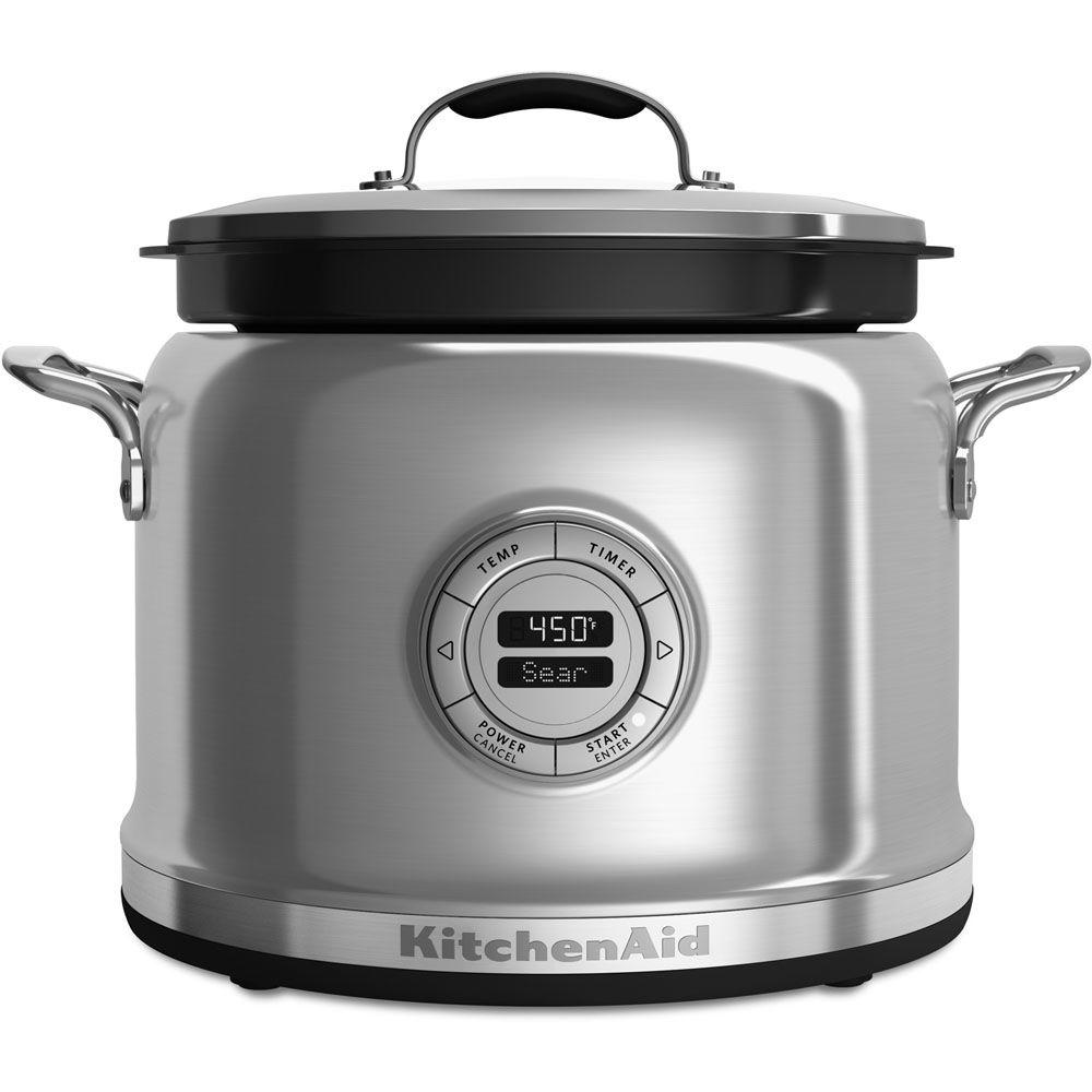 4 Qt. Multi-Cooker in Stainless Steel