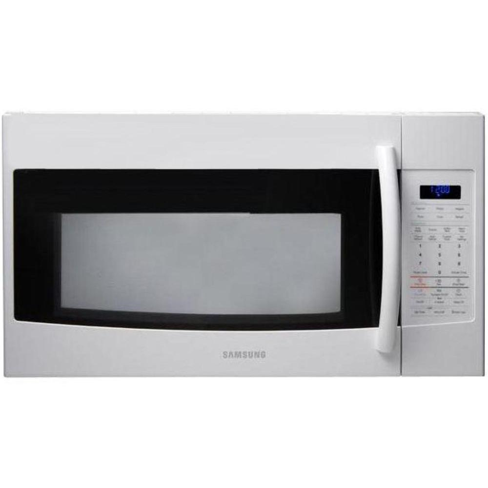 Samsung 1.9 cu. ft. Over the Range Microwave in White with Sensor Cooking-DISCONTINUED