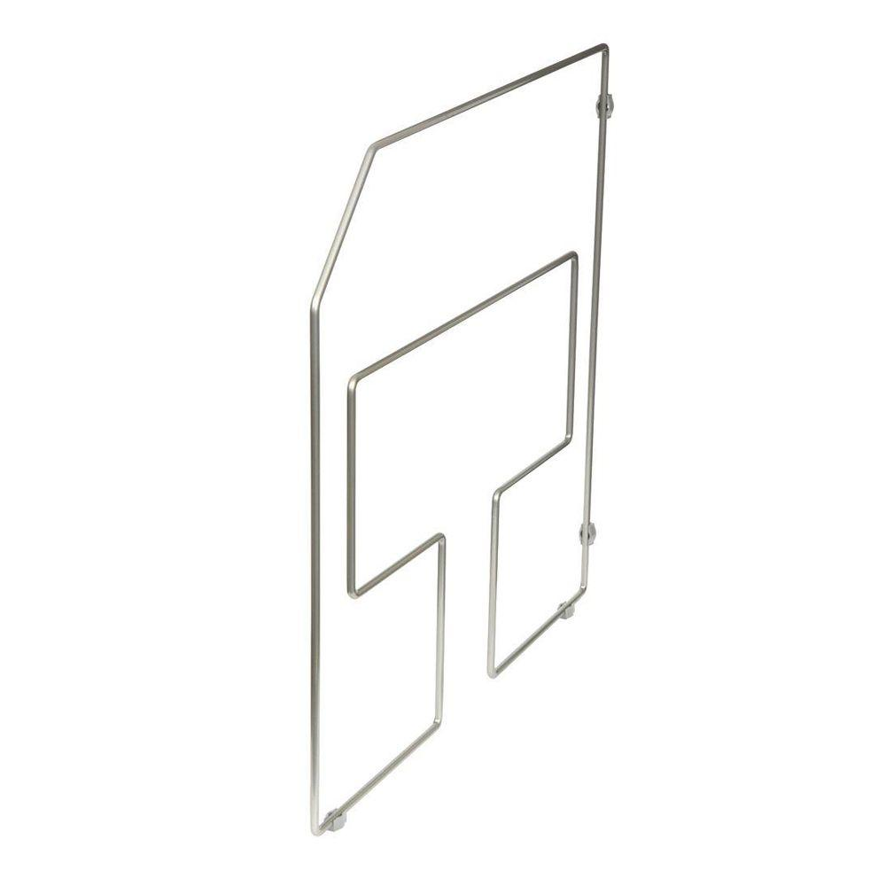 Knape & Vogt 18 in. x 0.94 in. x 19.5 in. Tray Divider-DISCONTINUED