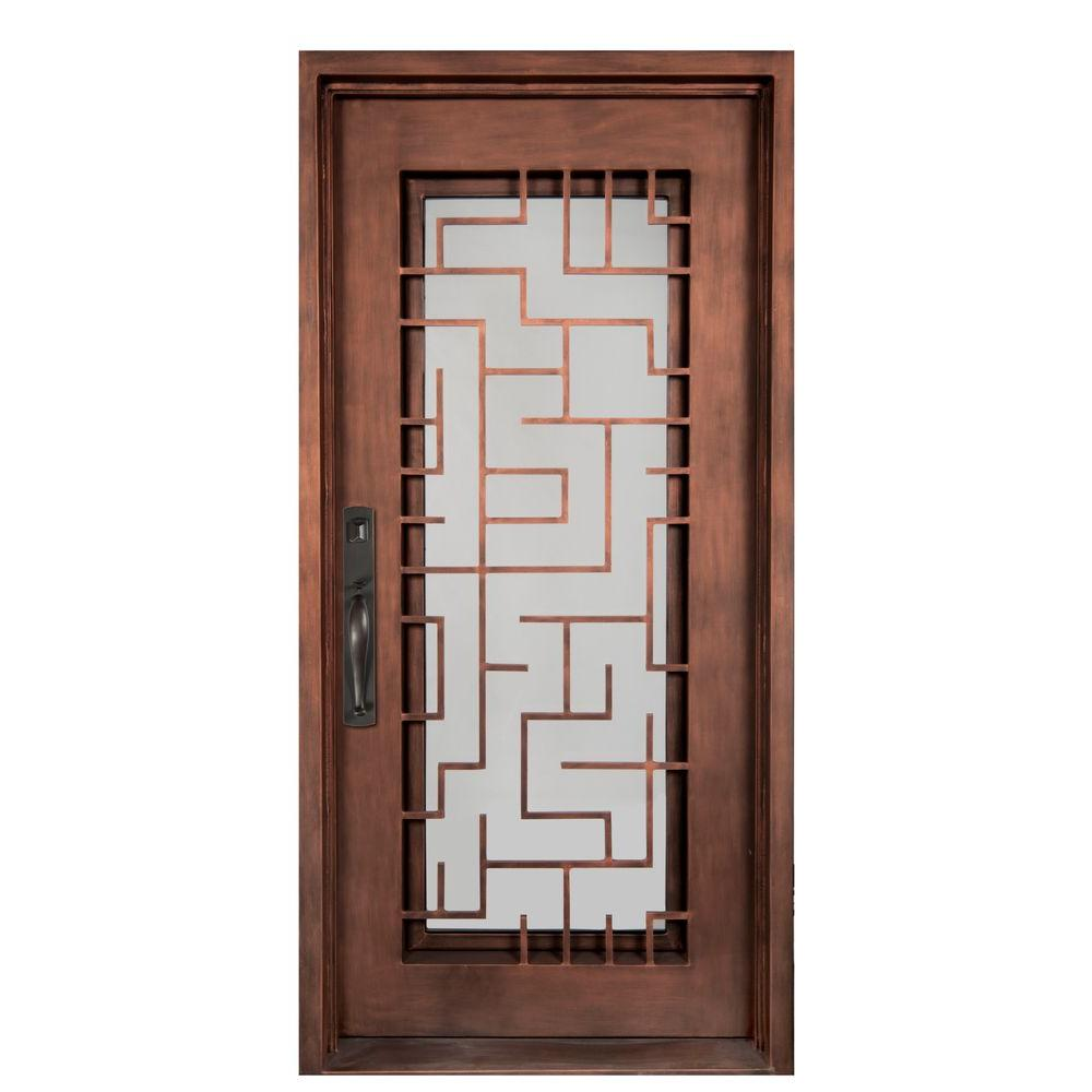 Iron Doors Unlimited 40 in. x 98 in. Bel Sol Classic