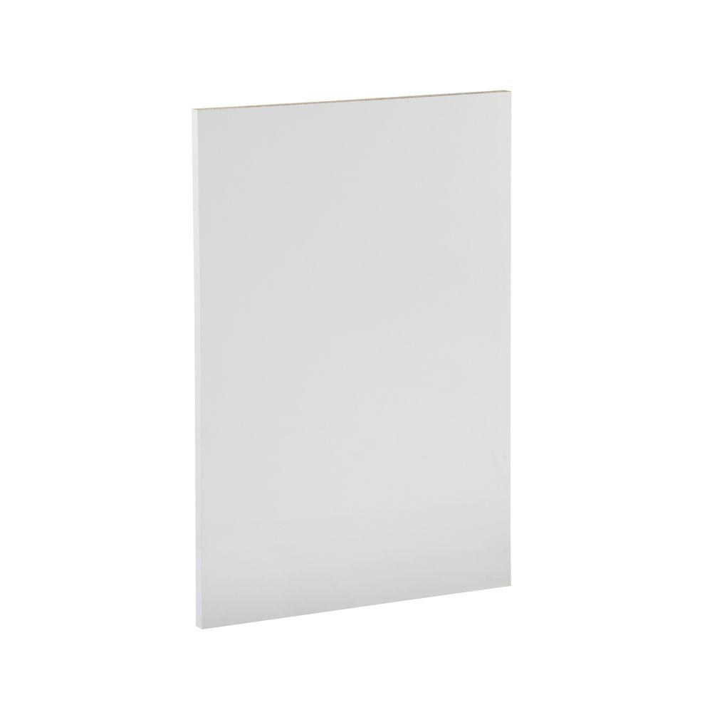 Ready to Assemble 23.6x34.5x0.06 in. Dishwasher End Panel in White