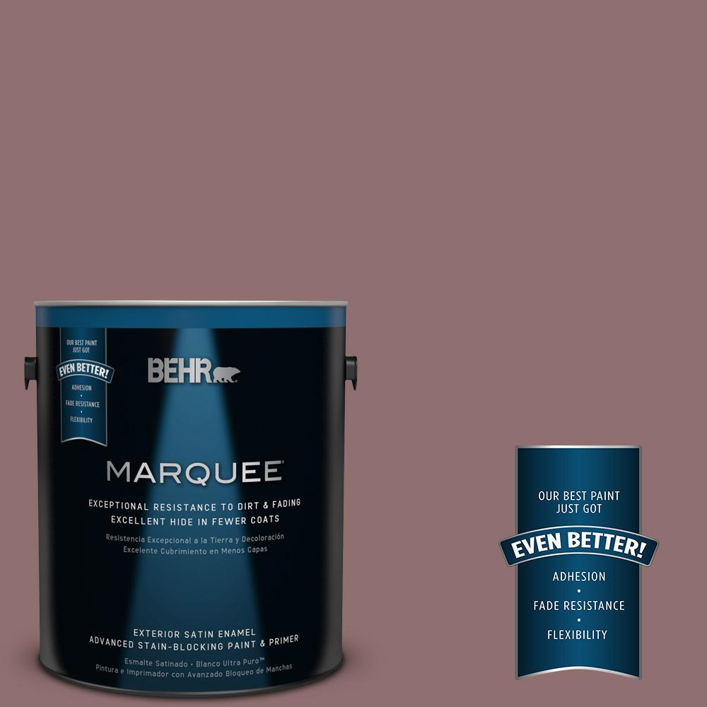 1-gal. #MQ1-47 Touch of Class Satin Enamel Exterior Paint
