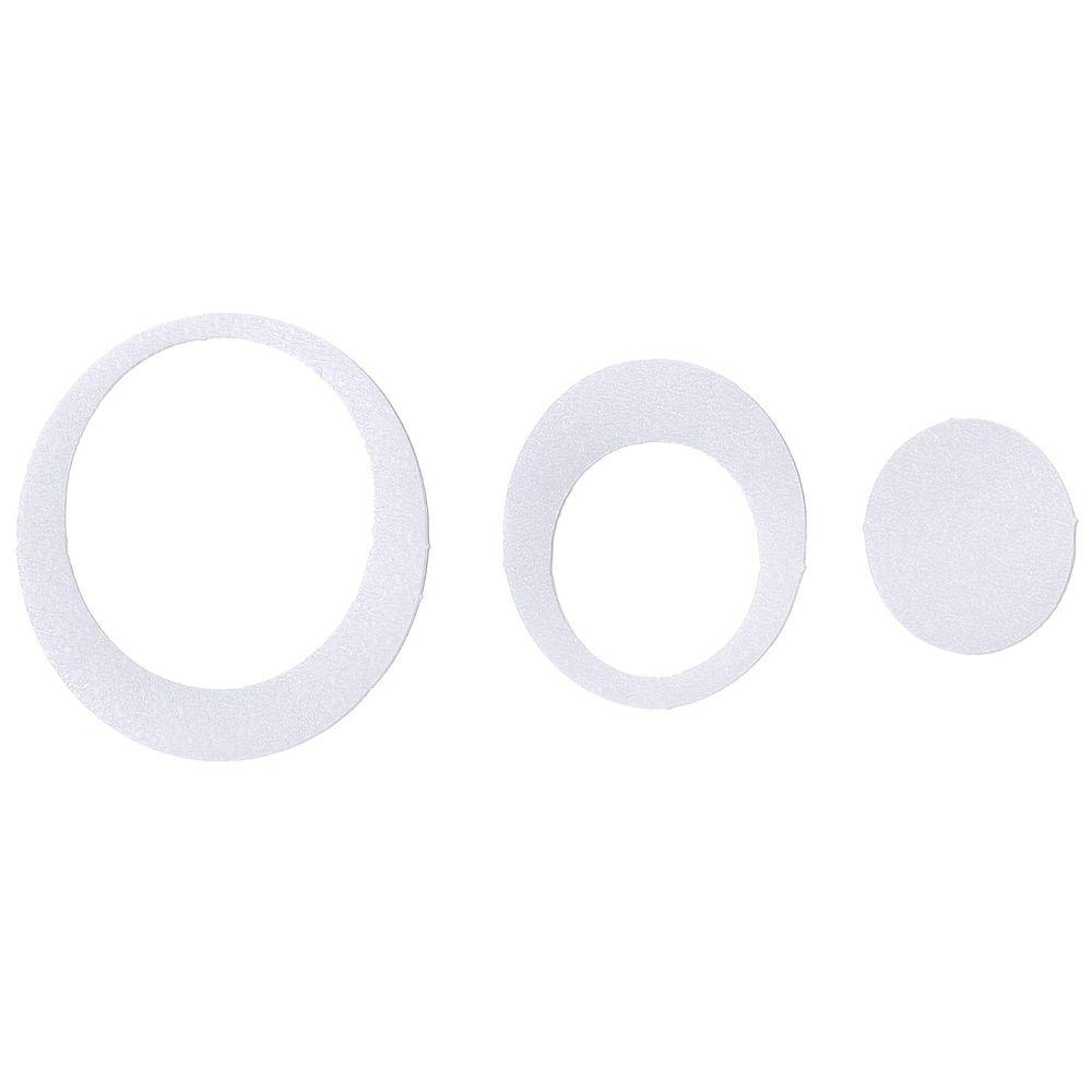 Adhesive Oval Treads in Clear (21-Count)