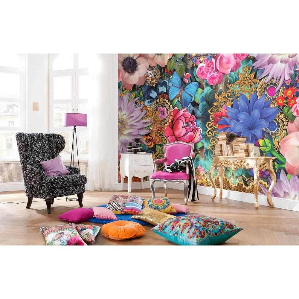 145 in. H x 100 in. W Mellimello Kevena Wall Mural