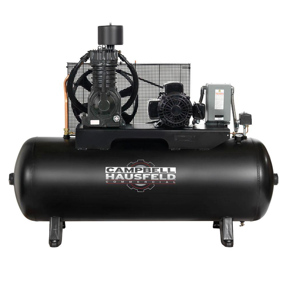 Campbell Hausfeld 80 gal. 3-Phase Electric Air Compressor-CE7006 - The Home