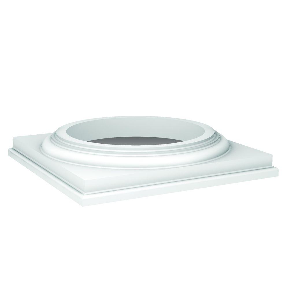 Fypon 17 in x 3 1 16 in polyurethane doric column cap dc for Painting fypon
