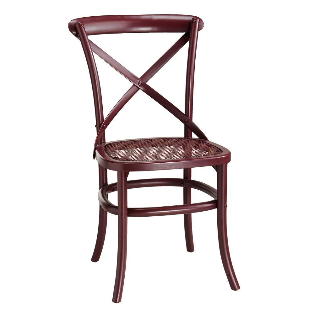 Home Decorators Collection 19.5 in. W Hamilton Miso Bentwood Chair