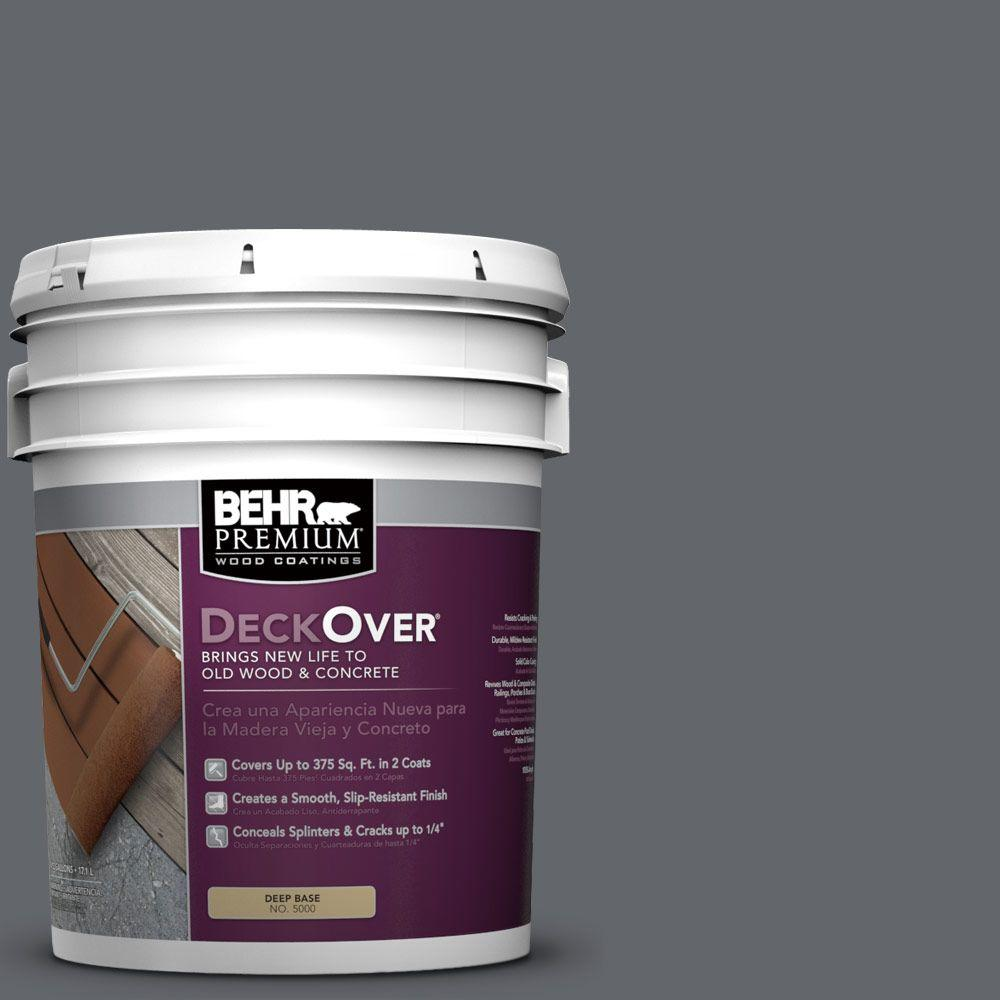BEHR Premium DeckOver 5 gal. #PFC-65 Flat Top Wood and Concrete Coating