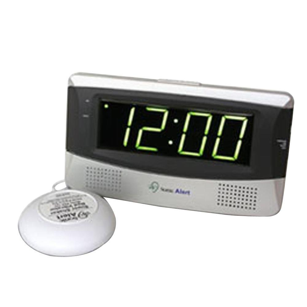 Sonic Boom Digital Alarm Clock - White