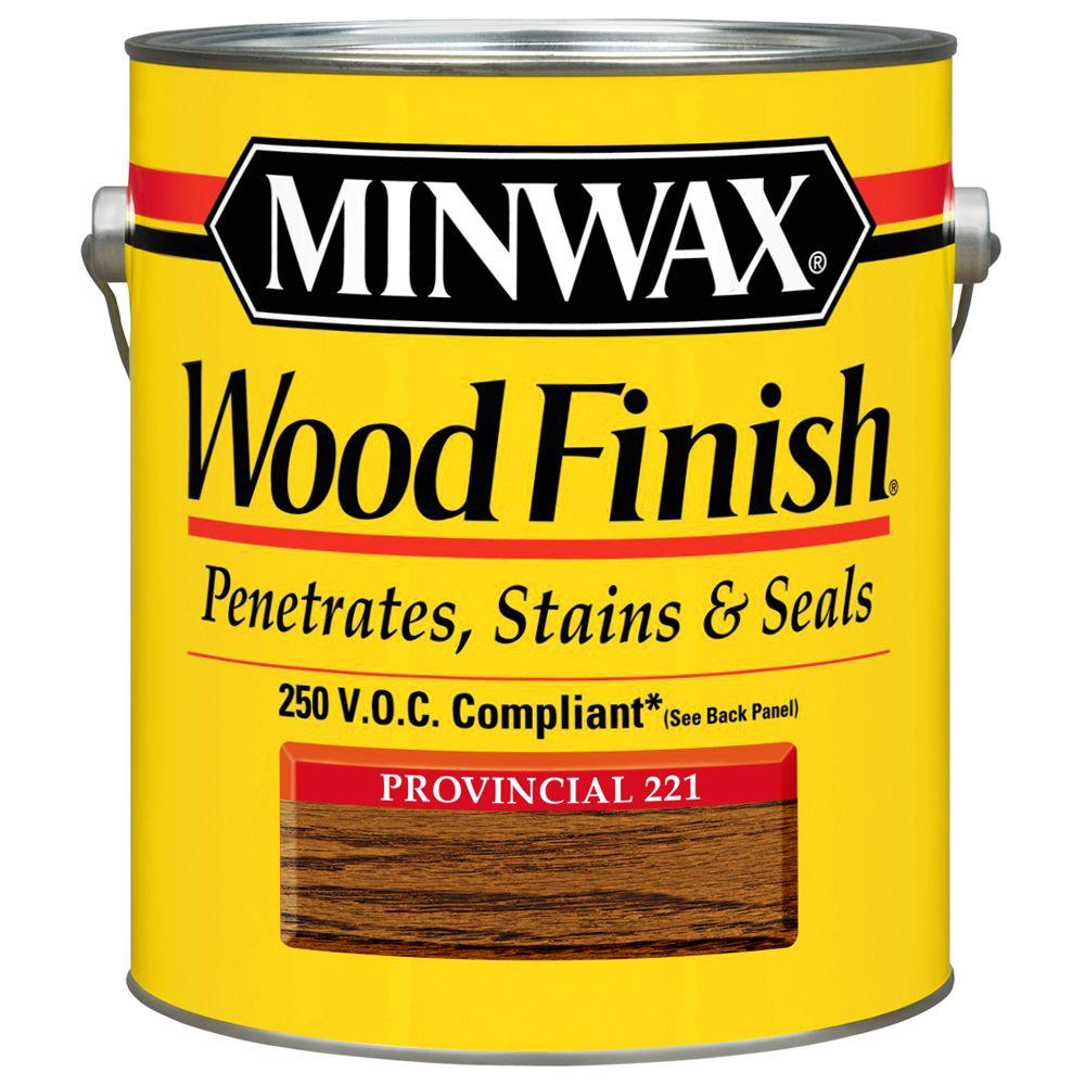 1 gal. Provincial Wood Finish 250 VOC Oil-Based Interior Stain (2-Pack)