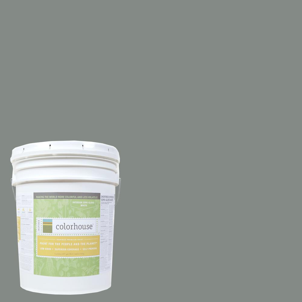 Colorhouse 5 gal. Stone .07 Semi-Gloss Interior Paint