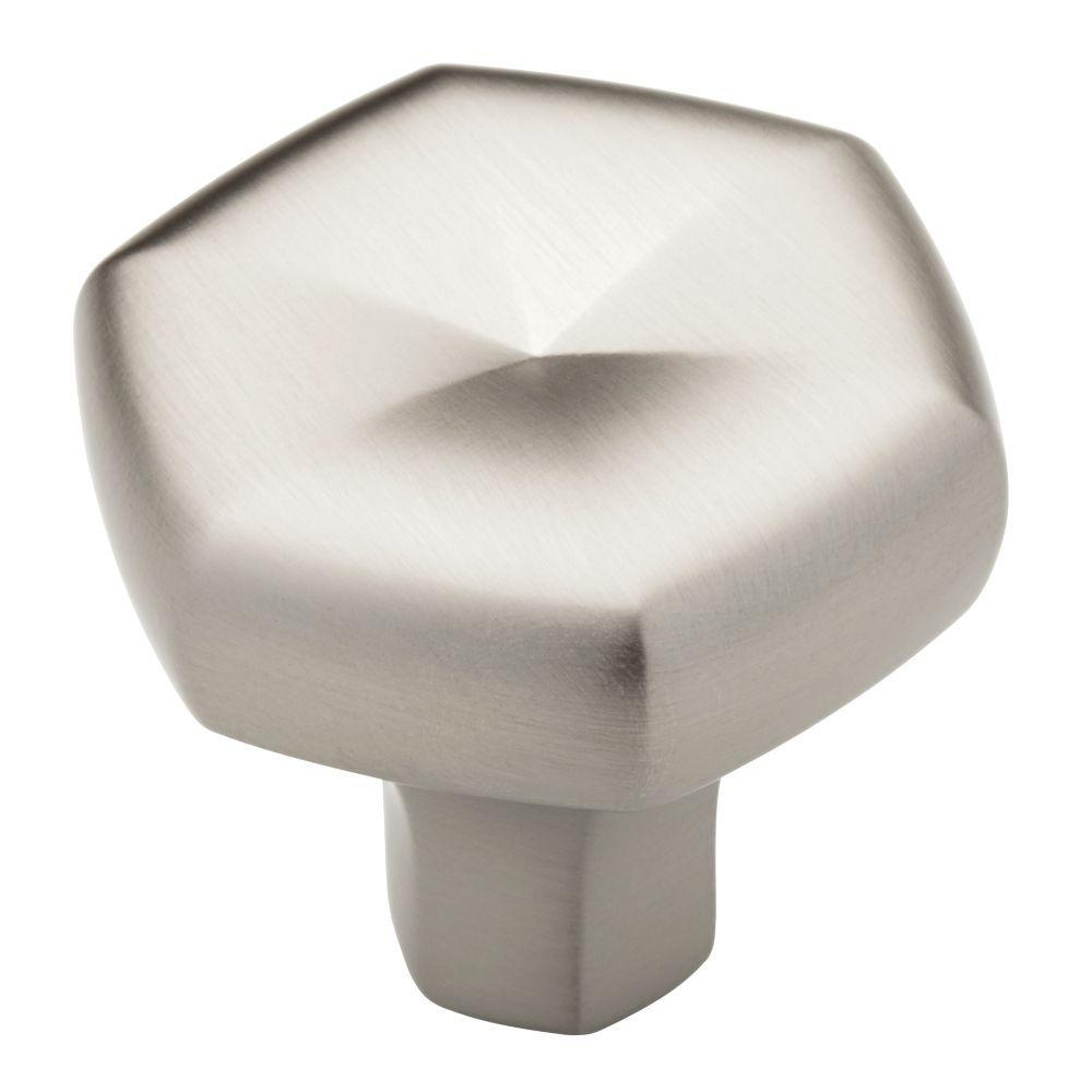 Liberty Stratus 1-1/3 in. Stainless Steel Cabinet Knob