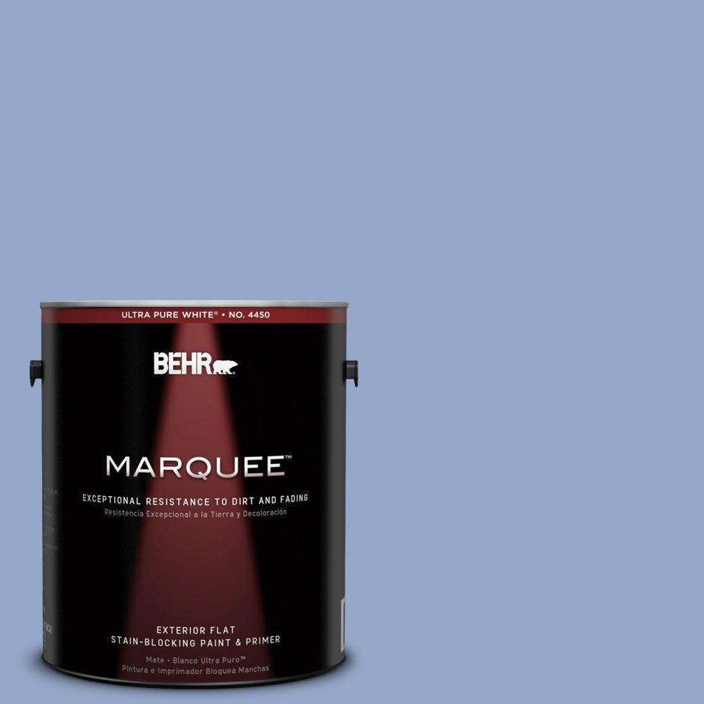 BEHR MARQUEE 1-gal. #600D-4 Finesse Flat Exterior Paint-445401 - The Home