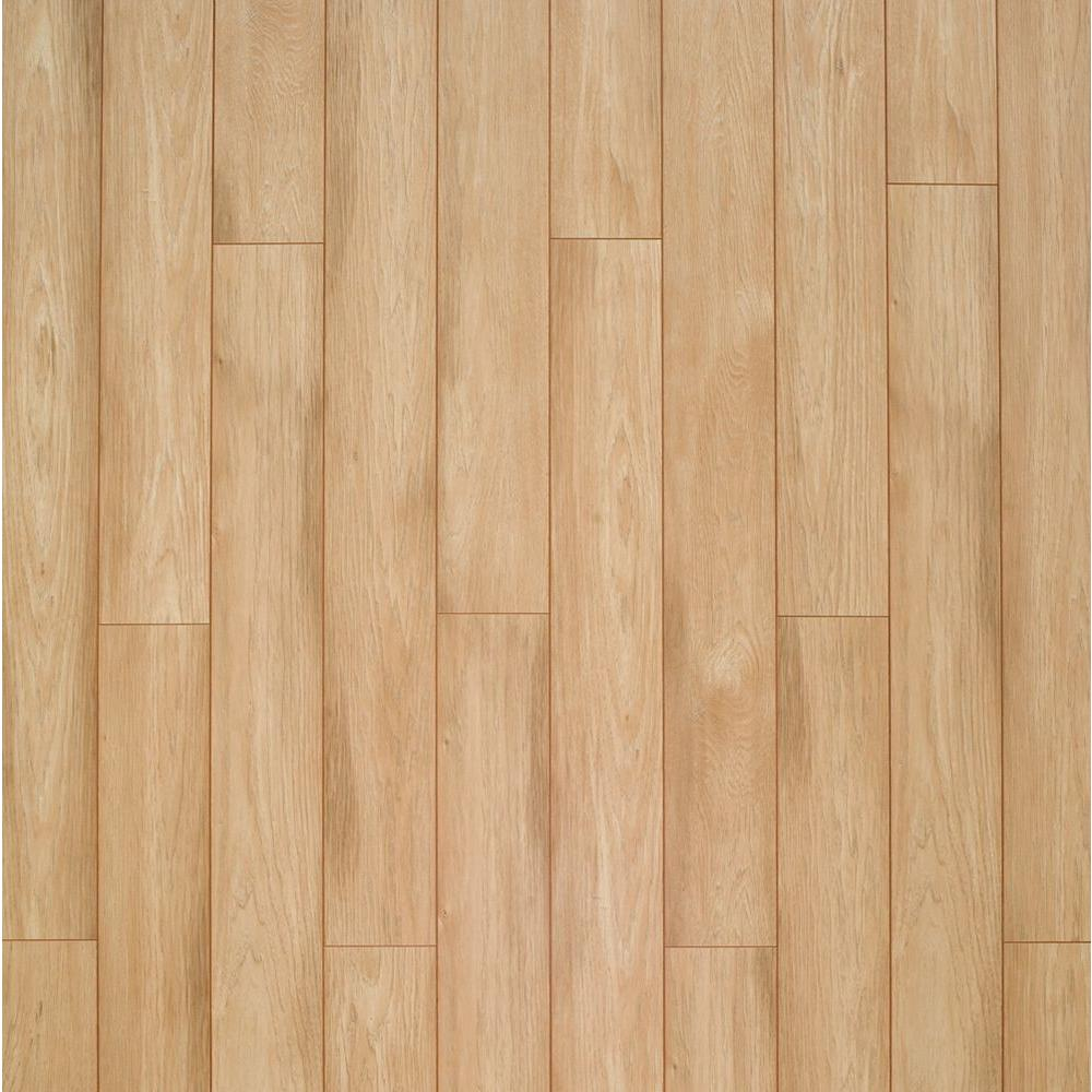 XP Sun Bleached Hickory Laminate Flooring - 5 in. x 7