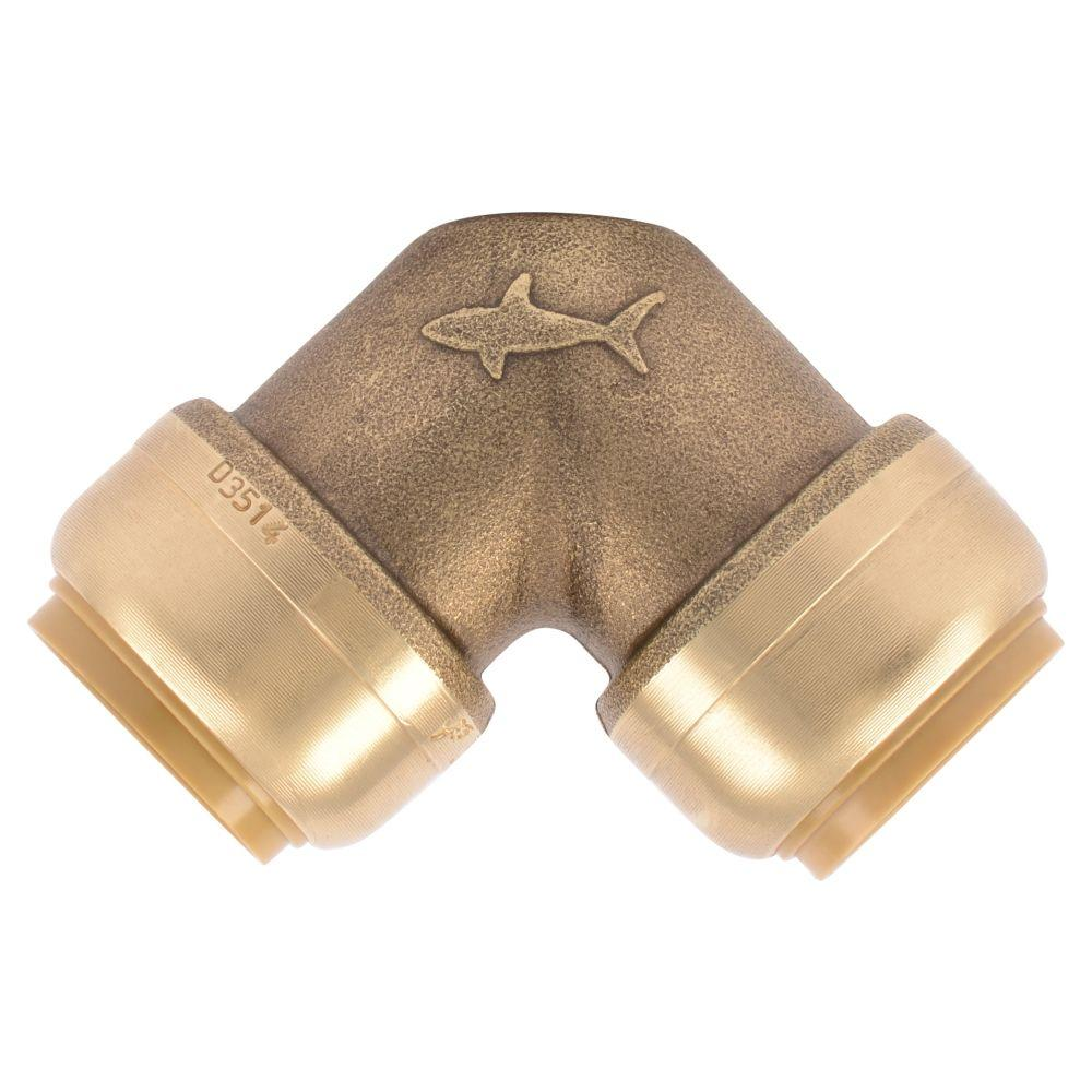 null 3/4 in. Brass Push-to-Connect 90-Degree Elbow