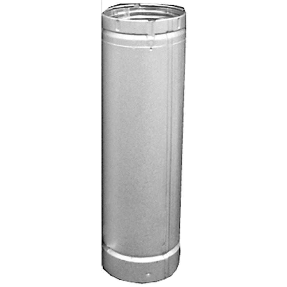 4 in. x 18 in. B-Vent Round Pipe
