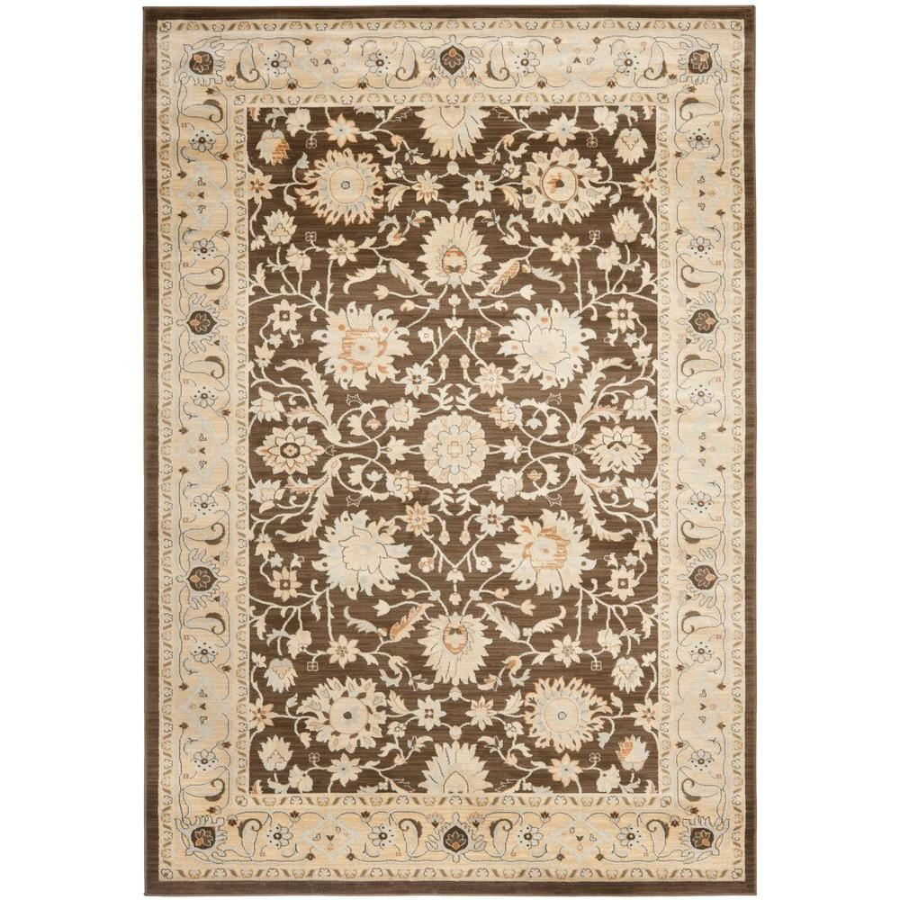 Safavieh Florenteen Brown/Ivory 8 ft. x 10 ft. Area Rug
