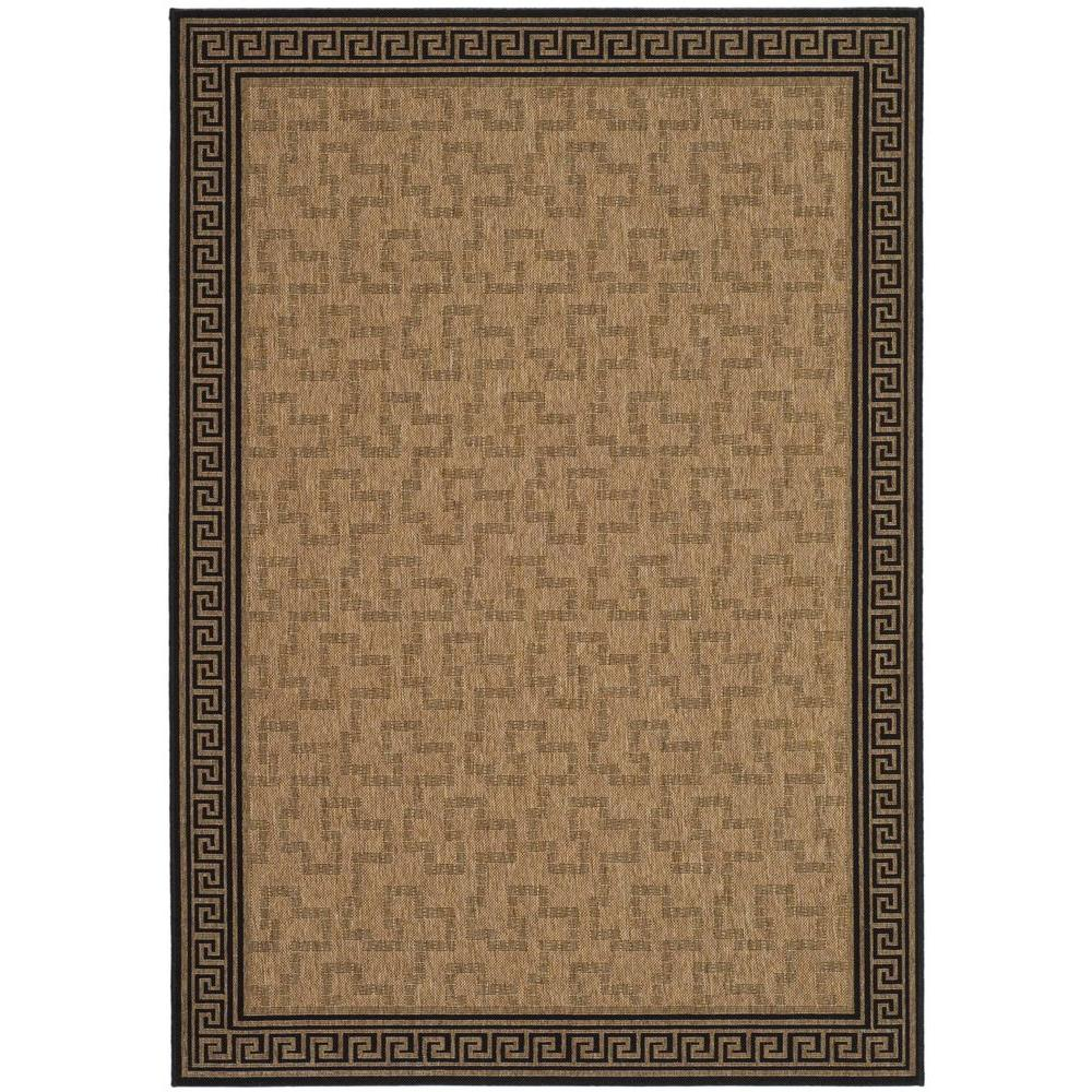 Byzantium Dark Beige/Black 6 ft. 7 in. x 9 ft. 6