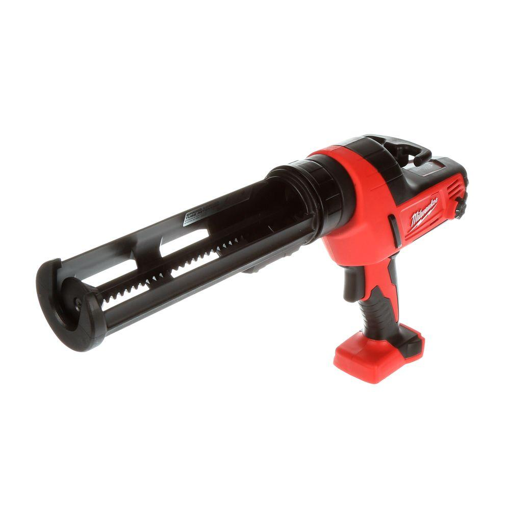 Milwaukee M18 Lithium-Ion 18-Volt Cordless 10 oz. Caulk and Adhesive Gun (Tool-Only)