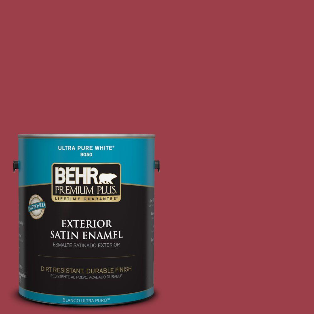 BEHR Premium Plus Home Decorators Collection 1-gal. #HDC-CL-01 Timeless Ruby