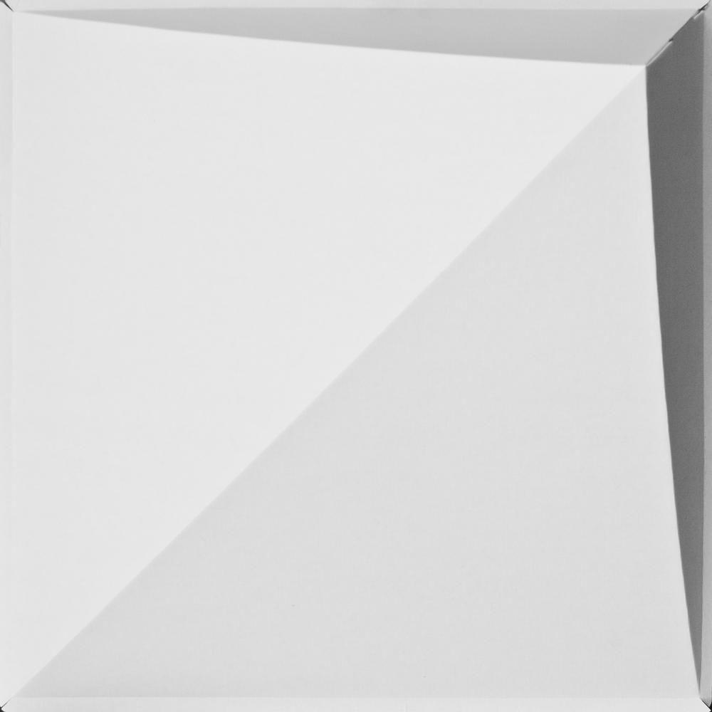 Peak 2 ft. x 2 ft. Lay-in Ceiling Panel in White (24-Pack)