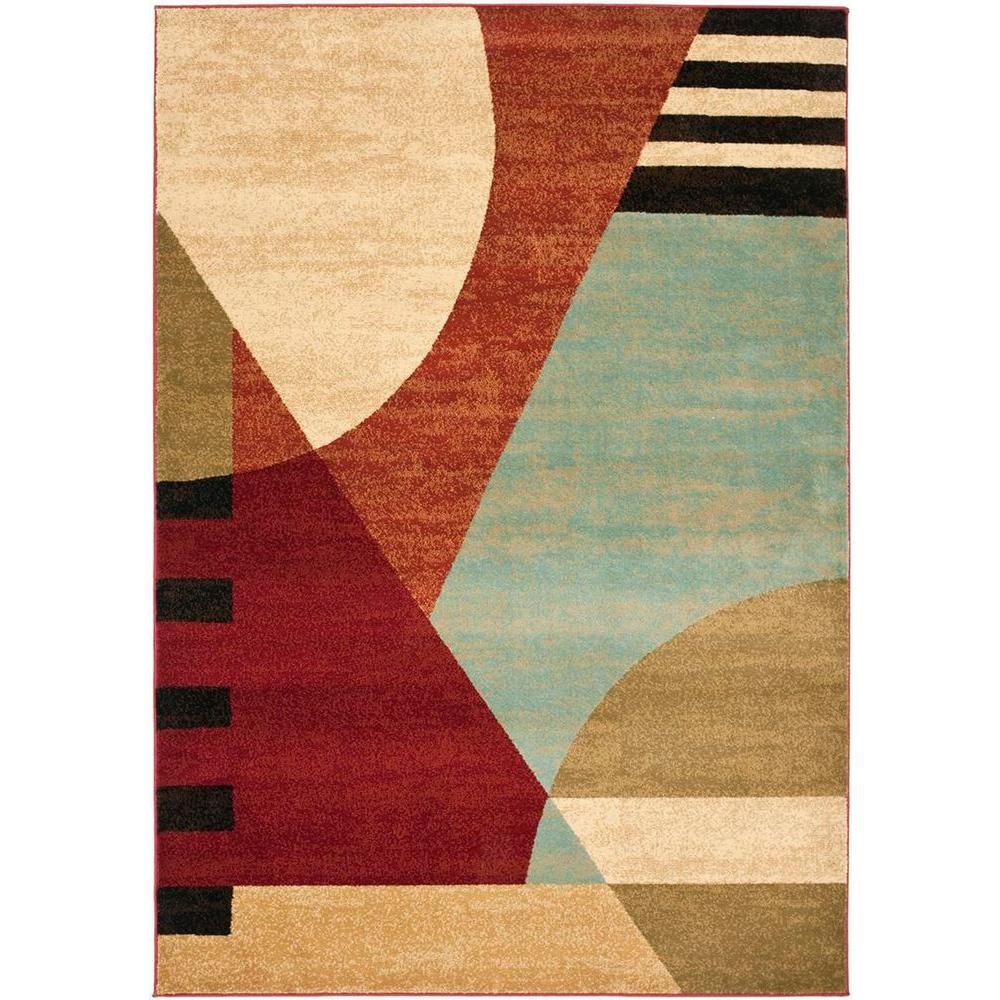 Porcello Multi 8 ft. x 11 ft. 2 in. Area Rug