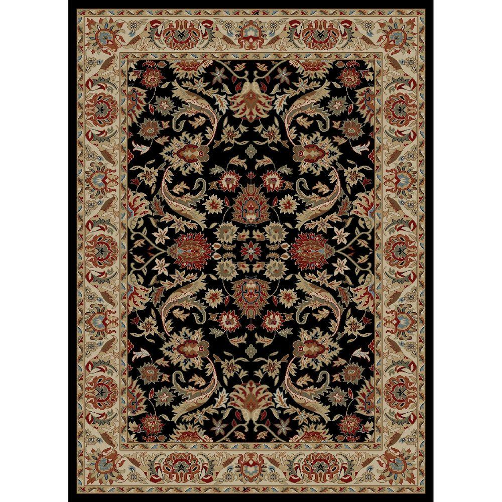Concord Global Trading Ankara Sultanabad Black 7 ft. 10 in. x 10 ft. 10 in. Area Rug