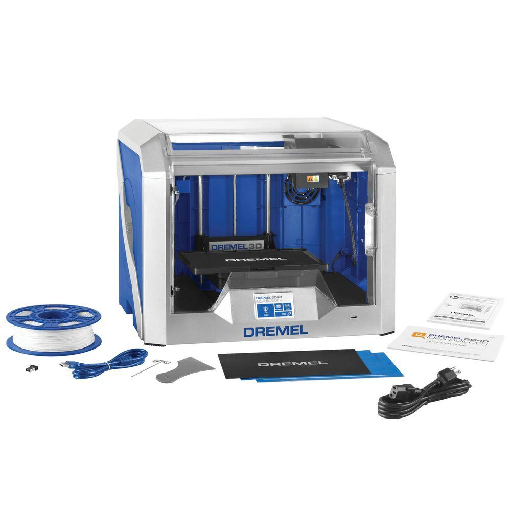 Idea Builder 3D Printer with Built-In Wifi and Guided Leveling