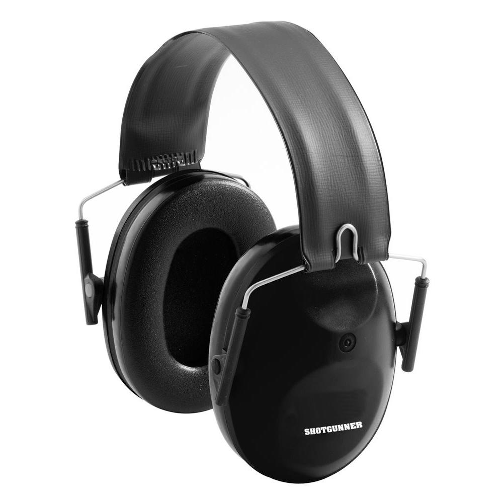 Peltor Black Sport Shot Gunner Earmuffs