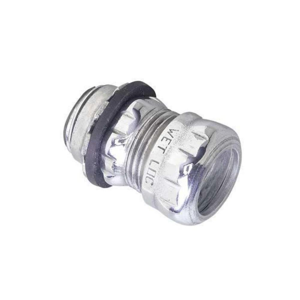 null 1-1/4 in. Electrical Metallic Tube (EMT) Rain Tight Connectors with Insulated Throats