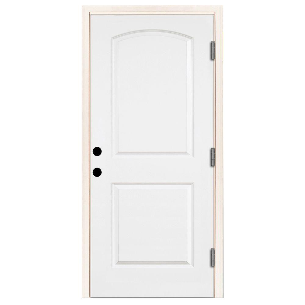 Steves & Sons 36 in. x 80 in. Premium 2-Panel Arch