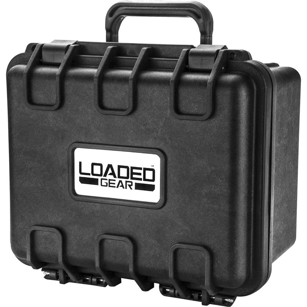 BARSKA Loaded Gear 9.1 in. HD-150 Hard Case, Black-BH12560 - The