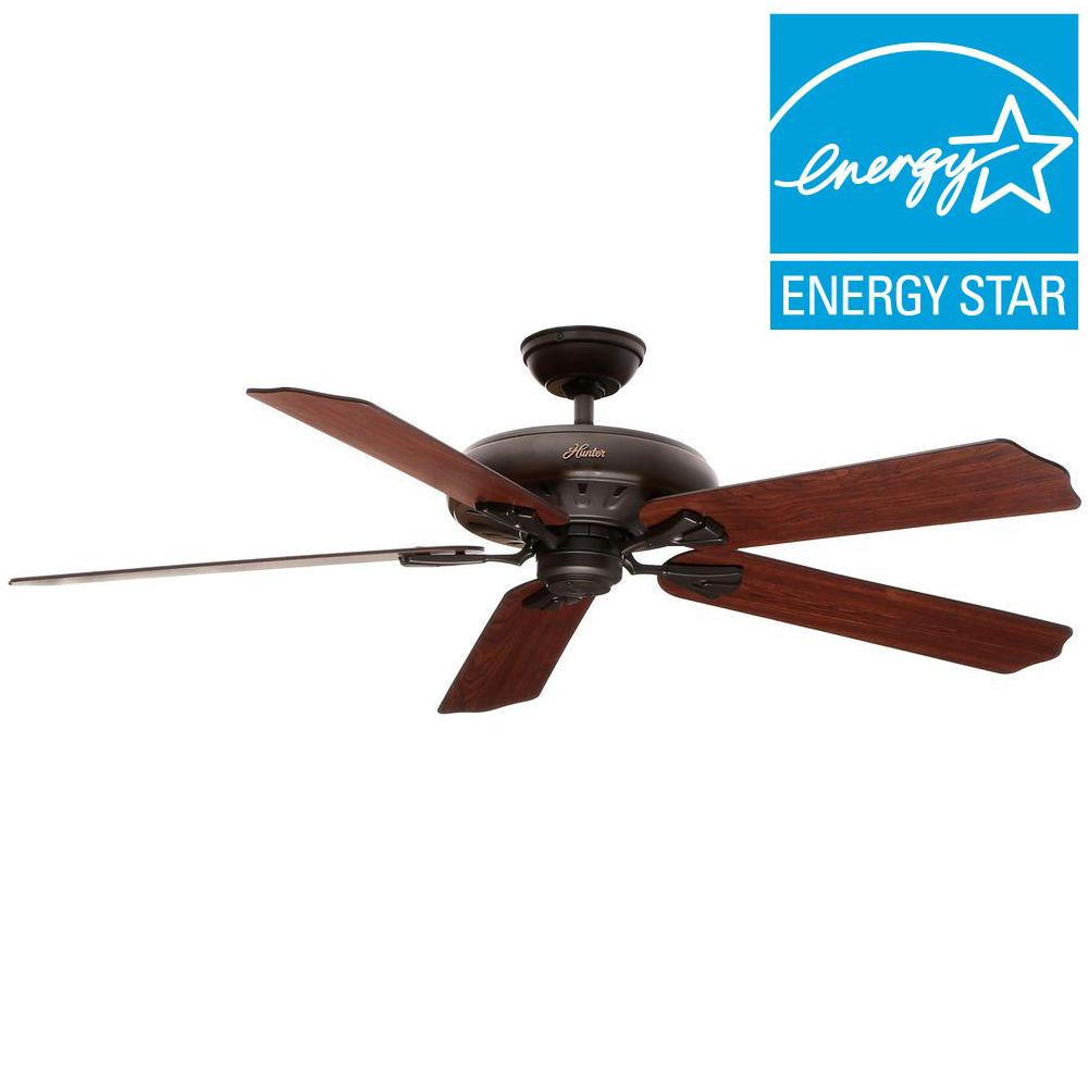 Hunter Royal Oak 60 in. Indoor New Bronze Ceiling Fan