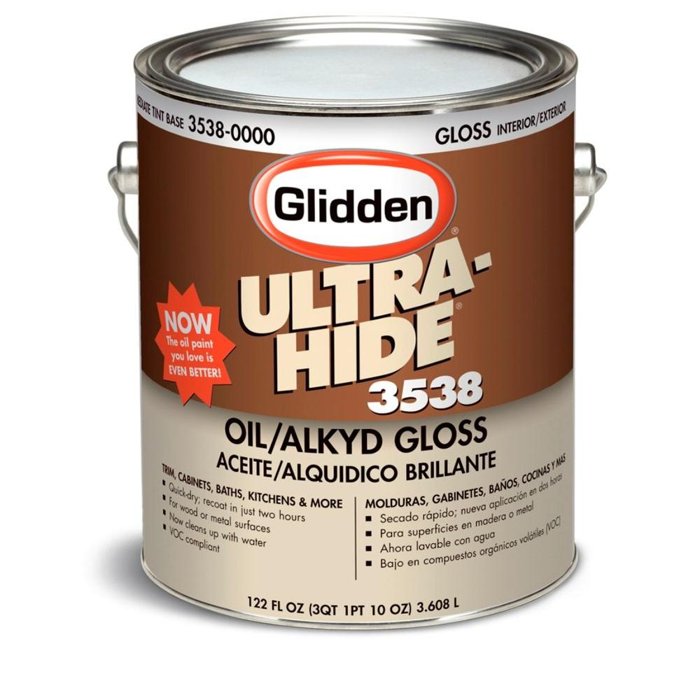 Ultra hide 1 gal gloss enamel oil alkyd interior exterior for What are alkyd paints