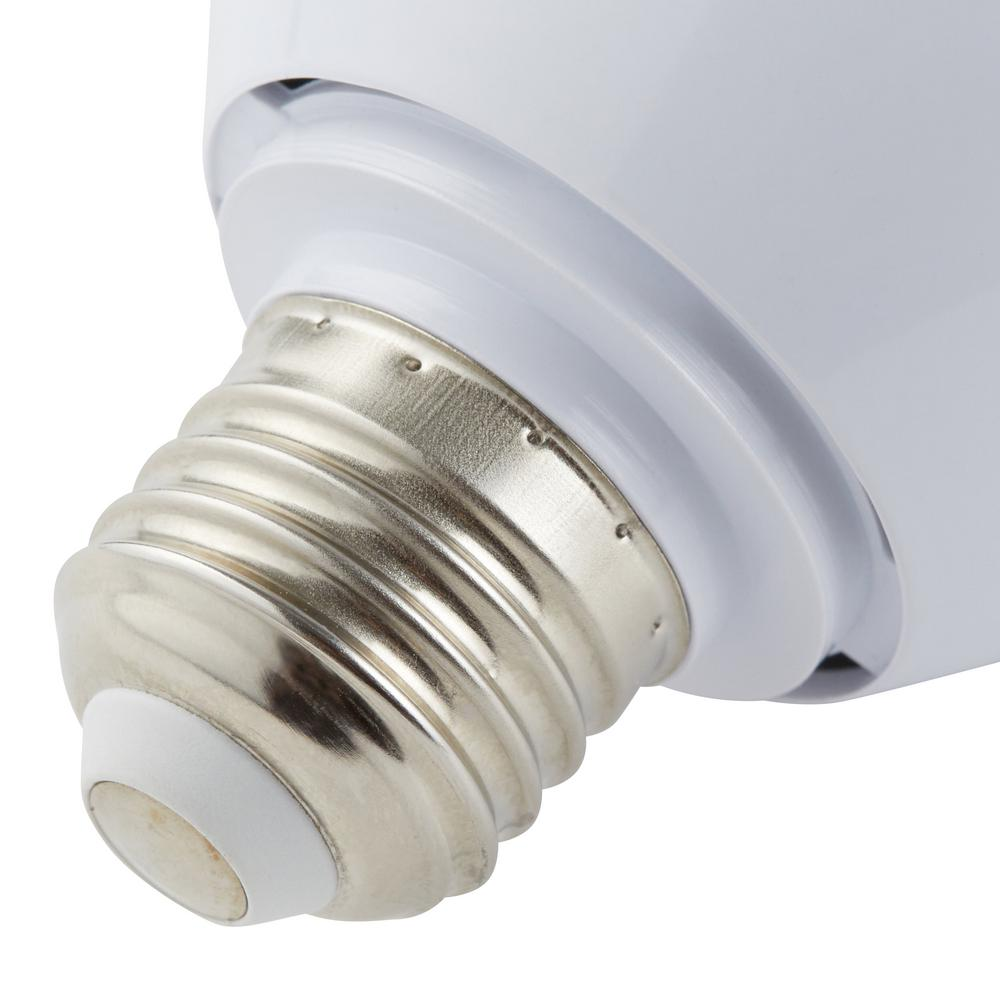 Party light bulb featuring LED lights with a 20,000-hour lifespan