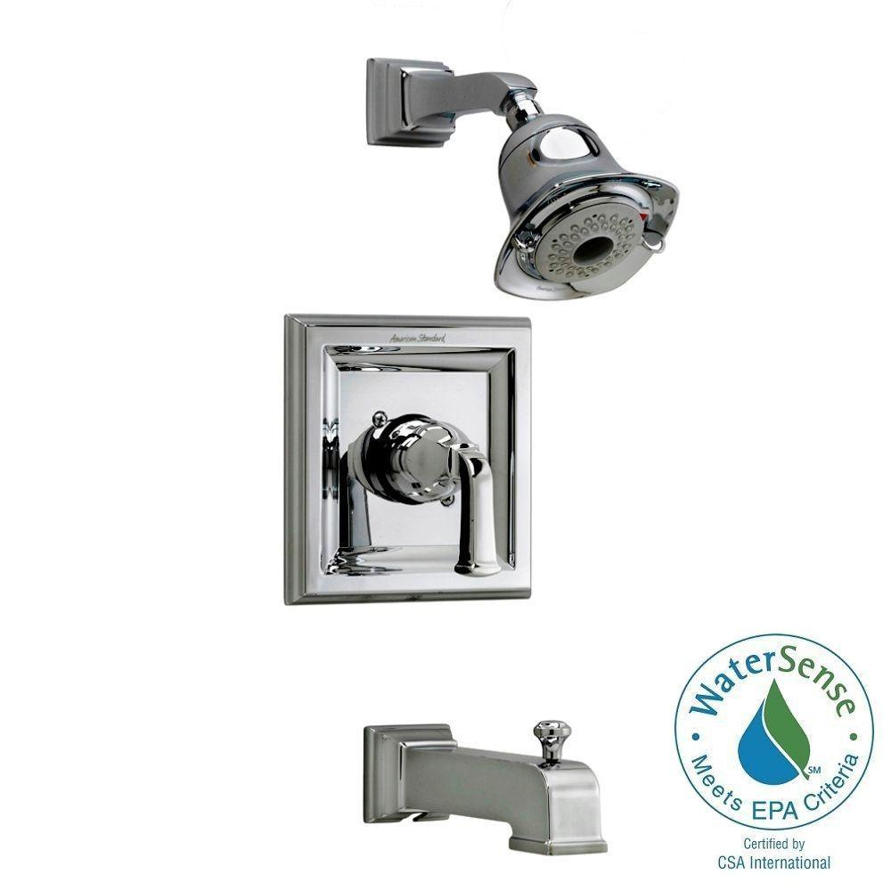Town Square 1-Handle Tub and Shower Faucet Trim Kit in Polished