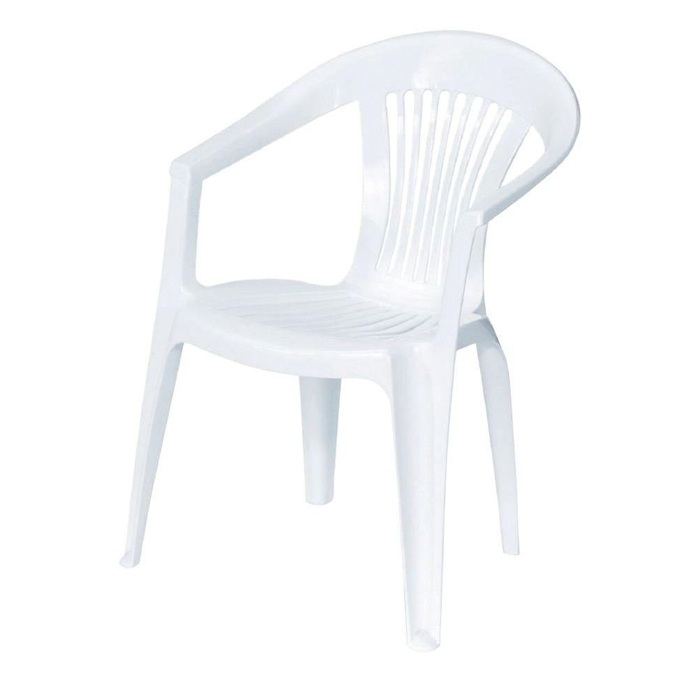 Plastic patio chairs home depot - Backgammon Patio Chair