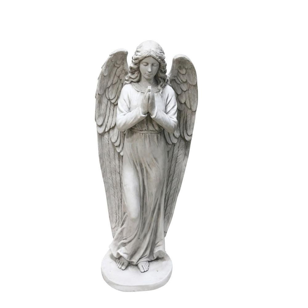 Alpine 46 in. Angel Statue-QFC100 - The Home Depot