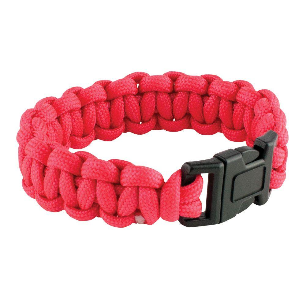 9 in. Red Paracord Bracelet