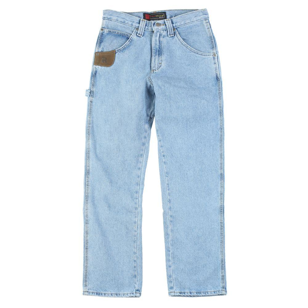 Men´s Relaxed Fit Work Horse Jean, Blue Sale $28.98 SKU: 204210573 ID: 3W001VI UPC: 51071981408 :
