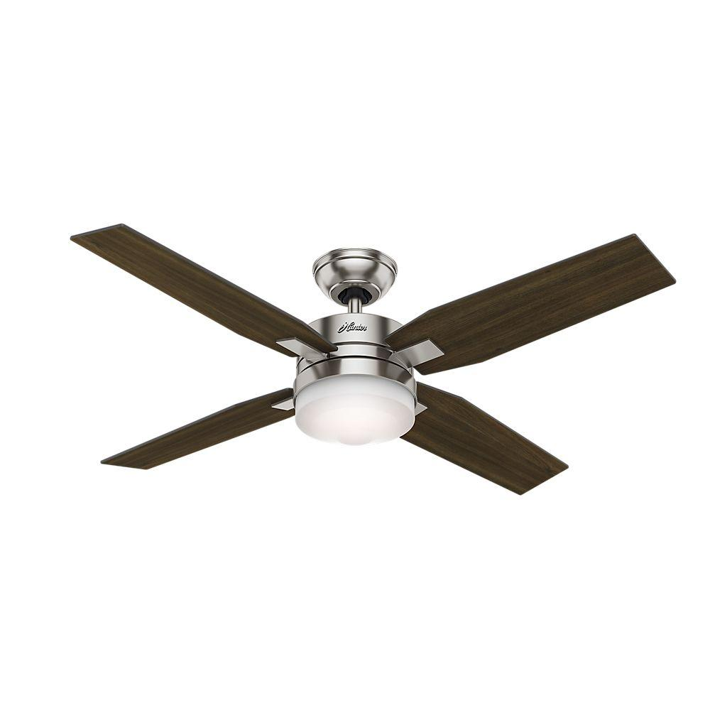 Mercado 50 in. Indoor Brushed Nickel Ceiling Fan