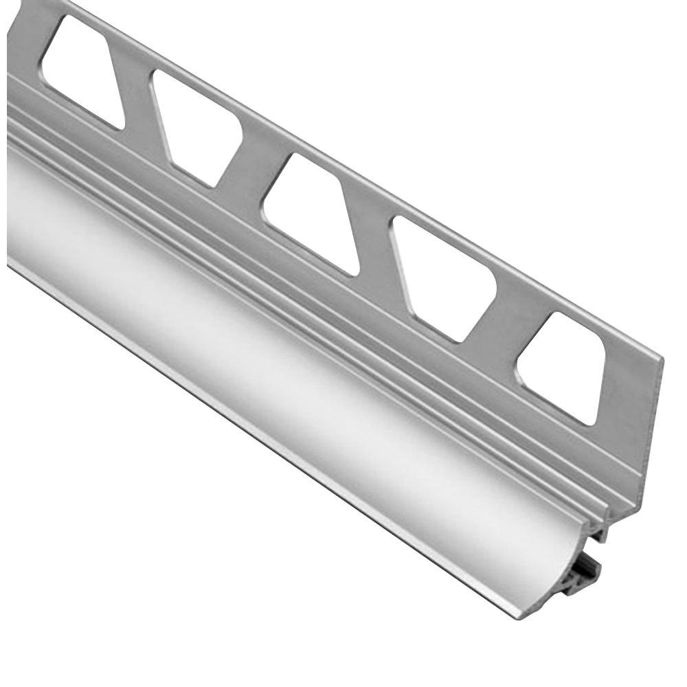 Dilex-AHKA Satin Anodized Aluminum 5/16 in. x 8 ft. 2-1/2 in.
