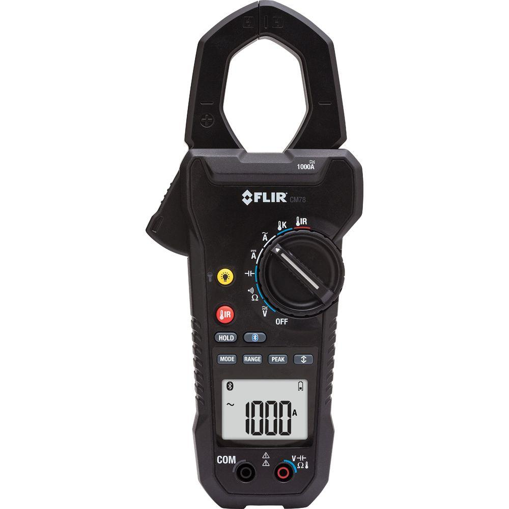 1000 Amp AC/DC Clamp Meter with IR Thermometer