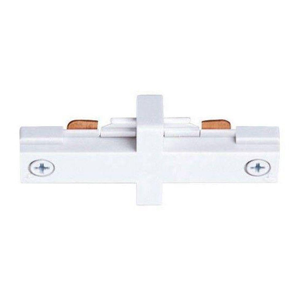 Trac-Lites White Miniature Straight Connector