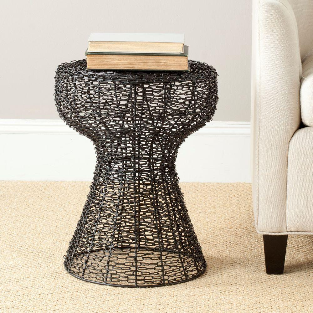 Safavieh Tabitha Black End Table