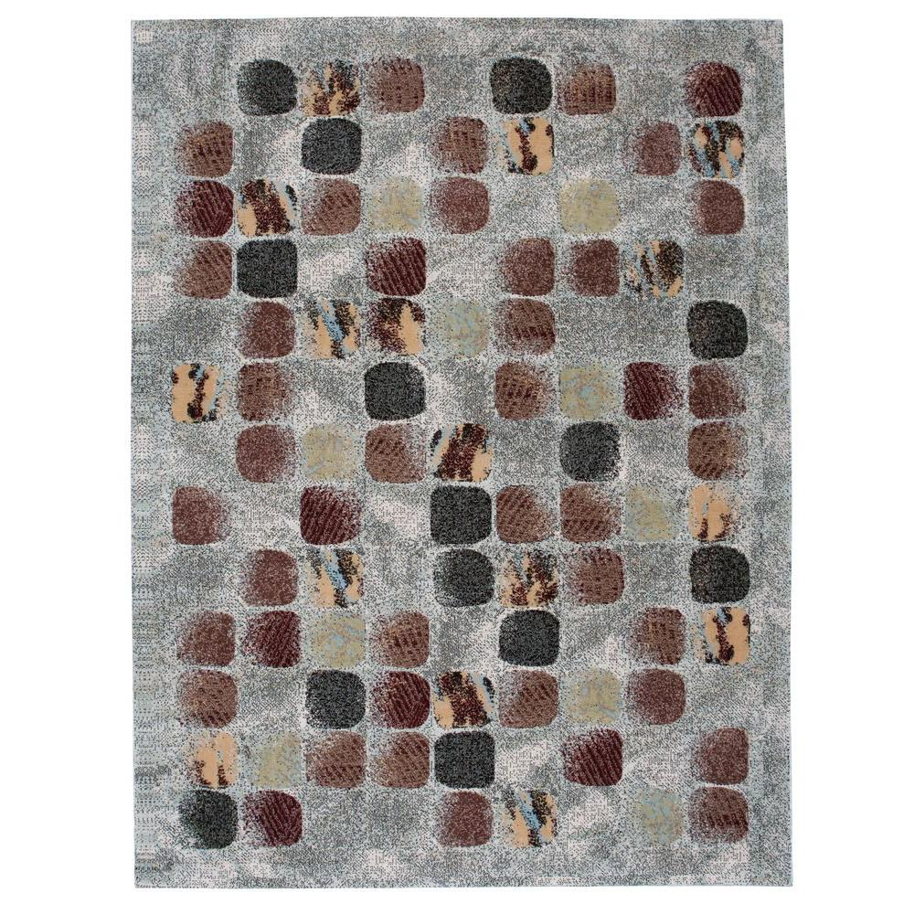 Modesto Cobblestone Beige 7 ft. 10 in. x 10 ft. 6
